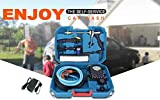 Tech Trendz Plastic 4 in 1 High Pressure Portable Car and Bike Washer with All Acessories (Multicolour)