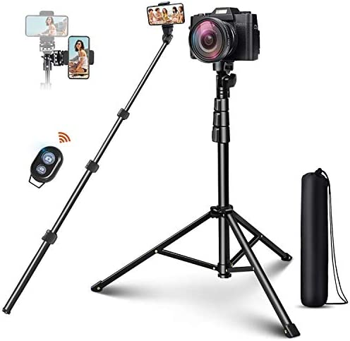 Selfie Stick Tripod ELEGIANT 51 Extendable Cell Phone Tripod Stand with Bluetooth Remote Compatible product image