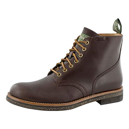 Polo Ralph Lauren Army Boot Brown Leather 10