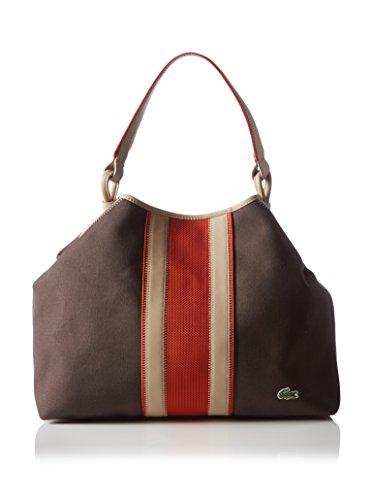 Lacoste Sporttasche, Handtasche, Damentasche, Henkeltasche, Handbag - Braun - M2303002