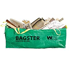 EASY PICKUP: The Bagster Dumpster in a Bag Service is an on-demand waste removal solution that works on your schedule CONVENIENT: Great for projects too small for a full-size dumpster, and too big for contractor bags VERSATILE: Perfect for kitchen re...