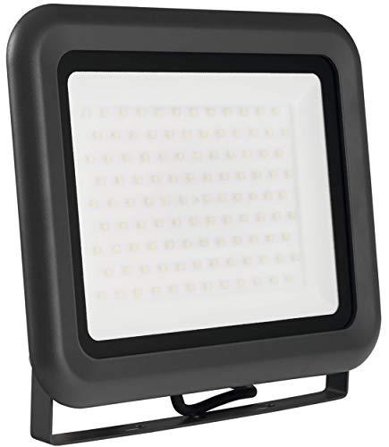LUMIRA LED Fluter 100W, Ersatz für 1000W Flutlicht-Strahler, Außen-Leuchte für Innen- und Außenbereich, IP65, Warmweiß