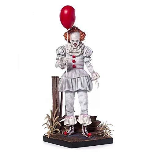 Action Figures Figur Statue, Deluxe Edition 1/10 Es Clown Peney Wise Statue, Modell Spielzeug Dekoration-23cm,23CM