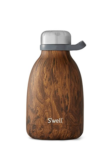 S'well Insulated Stainless Steel Roamer, 40oz, Teakwood