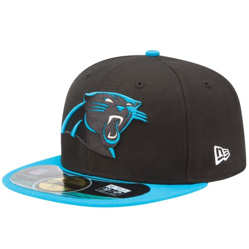 NFL On Field Carolina Panthers 59 Fifty Fitted - Team