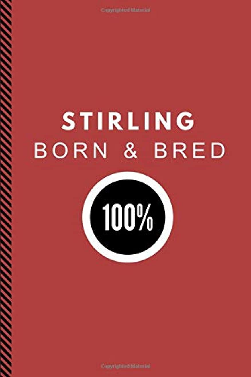 民間ロケットによってStirling Born & Bred 100%: Composition Note Book Journal, Customised Notepad