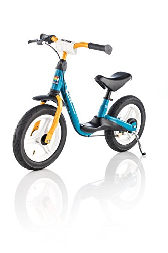 Kettler Laufrad Spirit Air 2.0 – das ideale & verstellbare Lauflernrad – Kinderlaufrad mit Reifengröße: 12,5 Zoll – mit Luftbereifung – stabiles & sicheres Laufrad ab 3 Jahren – blau & gelb