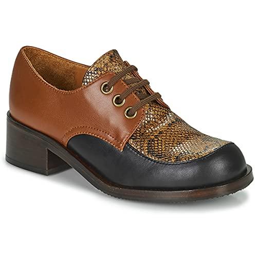 Chie Mihara Tudu Slipper & Bootsschuhe Damen Braun/Schwarz - 39 - Slipper Shoes