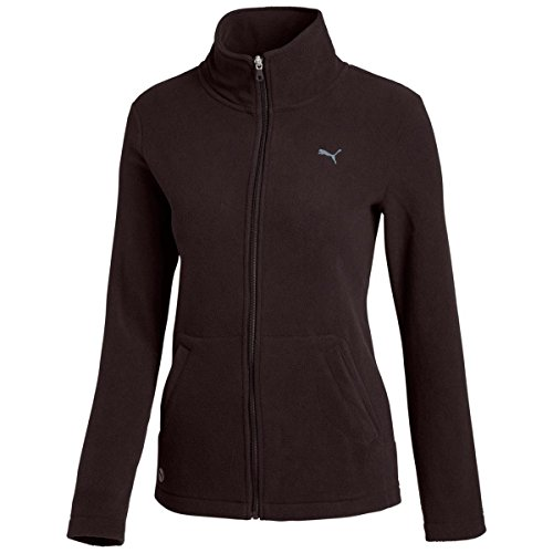 PUMA Damen Jacke ESS Polarfleece Jacket, Black, XS, 825799 01