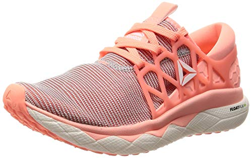 Reebok Damen Floatride Run Flexweave Cross-Trainer Mehrfarbig (White/Digital Pink 000) 37.5 EU