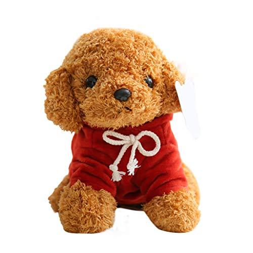 poundy bags Realistic Teddy Dog Lucky-Plush Dog Doll Cute Simulation Puppy Dog Doll Toy Gift
