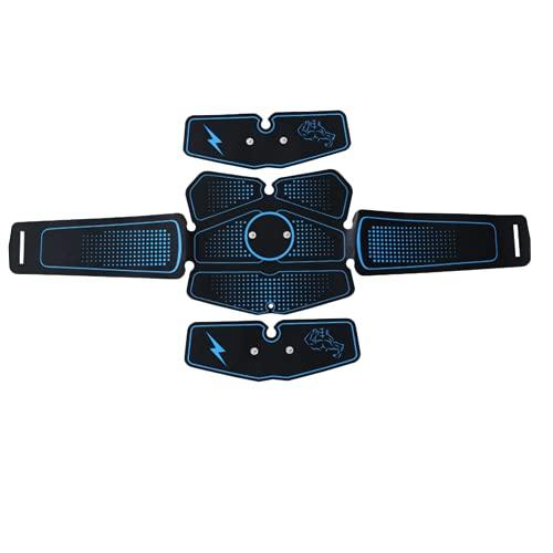 Shapewear Electroestimulador Muscular Abdominales Cinturón,Masajeador Eléctrico Cinturón con USB,Entrenador Inalámbrico Portátil de 6 Modos Simulación Abdomen/Brazo/Piernas/Glúteos