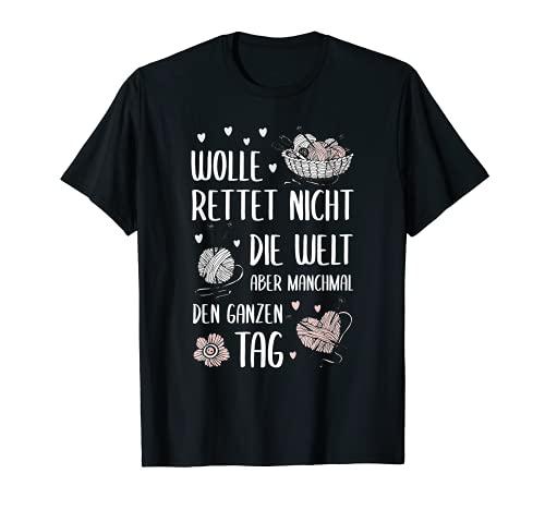 La lana salvará el día, punto y ganchillo. Camiseta