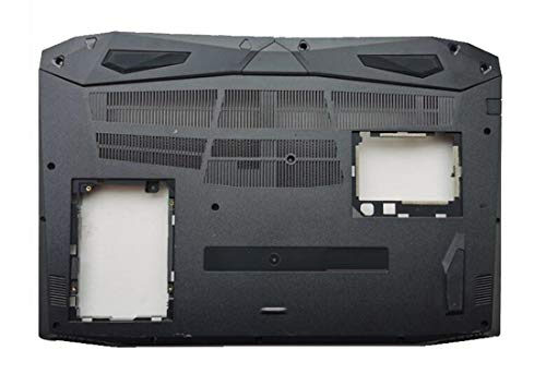 HuiHan Replacement for ACER Nitro 5 AN515-51 N17C1 AN515-52 AN515-53G AN515-42 Bottom Case Base Cover (Black)
