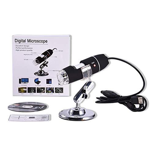 Peanutaso Microscopio LED portátil portátil USB