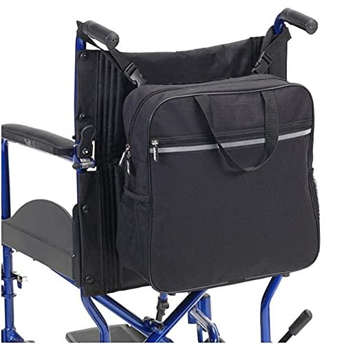 XXGJK Bolsa De Almacenamiento para Silla De Ruedas Bolsa de Almacenamiento Segura para sillas de Ruedas, Accesorios para Sillas de Ruedas Bolsa