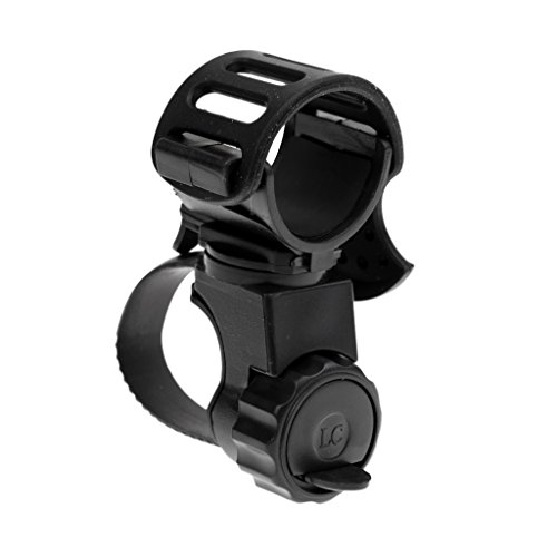sharprepublic Soporte de Bicicleta para Linterna para Luz de Bicicleta - Soporte de Soporte Ajustable de 360 Grados