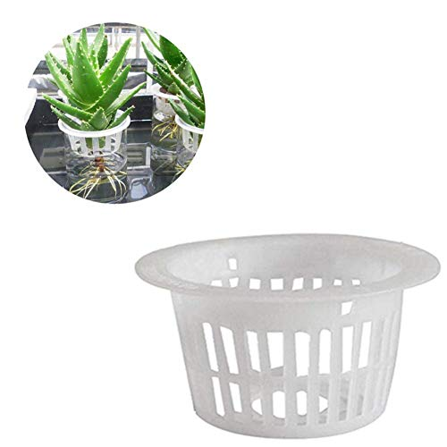 Kwekerij Potten 15 Pack Netto Pot Mand Plastic Plant Net Cup Duurzaam Bruikbare Hydrocultuur Plant Bloempot Voor Orchideeën Tomaten Pepers Kruiden