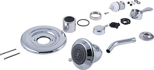 Delta Faucet RP29405 1500 to 1700 Series Conversion Kit, Chrome