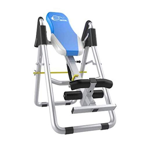 Lowest Price! ZDMSEJ Inverted Machine, Upside Down Home Fitness Equipment Gravity Folding Inversion ...