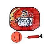 Basketball-Board, Mini-Basketballkorb, Wandmontage, Mini-Basketball-Rückwand-Set mit Ball, Basketball-Rahmen und Pumpe, für drinnen und draußen, Kinderspielzeug, Geburtstagsgeschenk Gr. One size, a