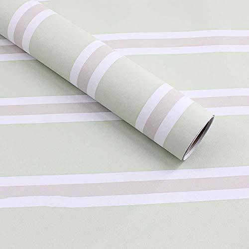 Papel pintado autoadhesivo a rayas 3D, pegatinas de papel tapiz para niños impermeables para el dormitorio, pegatinas de pared autoadhesivas de pared de fondo de sala de estar modernass-G_60cmX3m