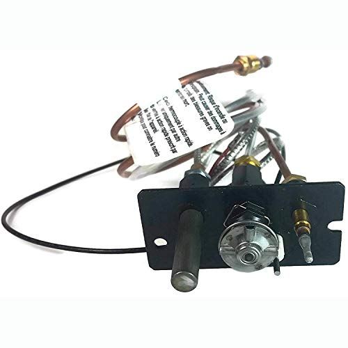 Propane Gas - Majestic 10002265 OEM Replacement 3 Way Pilot Assembly for Propane Gas Fireplaces