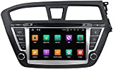 GPS Navigation Head Unit Sat Nav Auto Audio Player DE Audio Autor MP5 FM Radio Car Stereo ISP Touch STEMAN Android 10.0 Compatible con Hyundai I20 2014-2017,8 Core 4G+WiFi 4+64GB