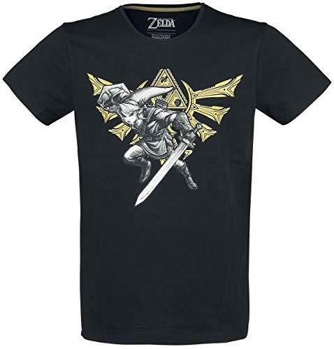 The Legend of Zelda Wingcrest - Triforce - Link T-Shirt schwarz XXL