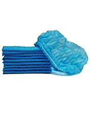 Swadesi Stuff Blue Non Woven Hygiene Stretchable Disposable Bouffant/Surgical Head Cap