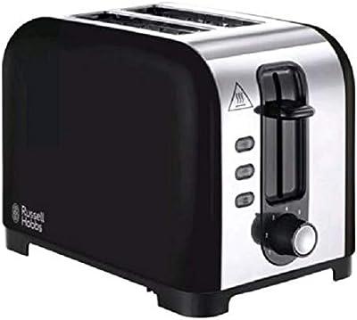 Russell Hobbs 23532 Henley 2 Slice Toaster-Black