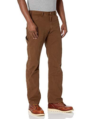 Dickies Men's Sanded Duck Carpenter Jean, Timber, 32x32