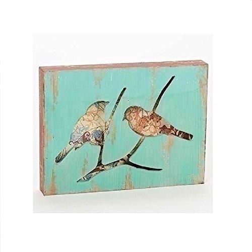 Roman General Gift - Decoración de pared de madera para pájaros de 24 cm