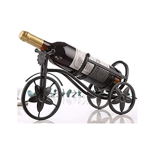 ZJZ Estante de Vino, portabotellas de Vino, para Decoraciones caseras de Restaurante, Caja de Regalo de Regalos románticos, Estante pequeño para Vino