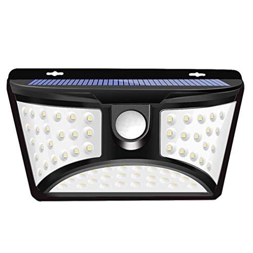 Mobestech Zonne-Energie Deur Licht Buiten Bewegingssensor Verlichting Waterdichte Wandlamp Voor Buiten Tuin Straat Tuin Oprit Veranda Decor 68 Leds