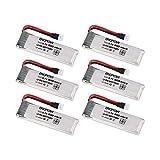 MXECO 6 PZ Engpow 3.7 V 500 mAh 1 S Batteria Lipo Ricaricabile per UDI RC U818A...