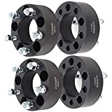 ECCPP 4X 2 inch 5x4.5 to 5x4.5 82.5mm 1/2 5 Lug Wheel Spacers 5x114.3mm 50mm Compatible with for Ford Mustang for Ford Ranger for Ford Taurus
