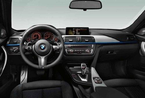 BMW M Lederlenkrad Dekorblende