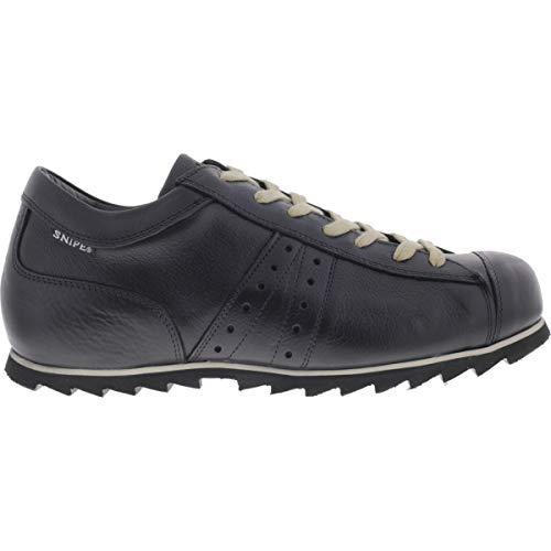 Snipe / Modell: Rippel Sport/Negro Schwarz Leder/Schnürer/Art: 42285-119 / Herren Sneakers Größe 46 EU