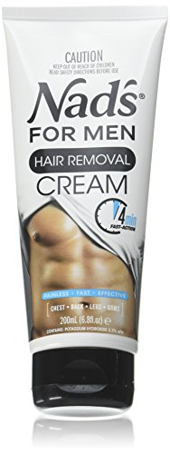 Nad's for Men Hair Removal Cream 6.8 oz (Pack of 2)