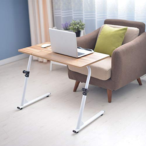 Unine Adjustable TV Tray Table Folding Desk, Dinner Tray on...