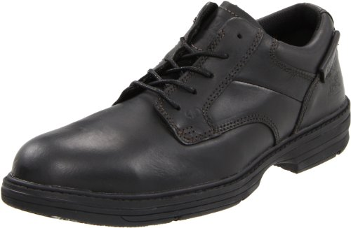 Caterpillar Men's Oversee Steel Toe Oxford,Black,7 M US