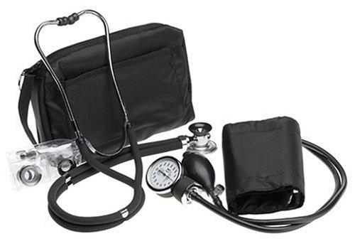 Prestige Sphygmomanometer & Stethoscope Kit with Matching Black Carrying Case