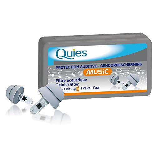 quies - protections auditives music - 1 paire