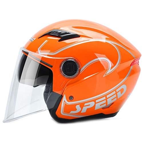 DUBYU half-plafondlamp batterij voor auto dumbb snelheid zwart elektrische motorhelm winterhelm bescherming mannen zonne-energie helm heren helm