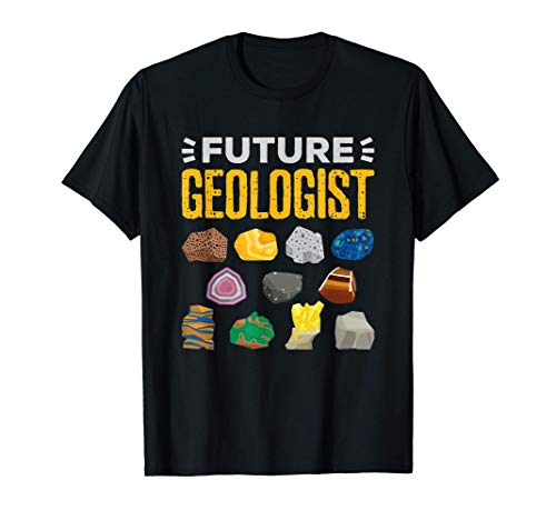 Cool Future Geologist Gift Geology Student Earth Science T-Shirt