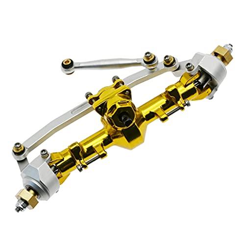 RC Car Axles Set completo Aleación de aluminio Eje de transmisión Accesorios duraderos para Axial SCX24 Metal modificado piezas del vehículo eje de transmisión conjunto