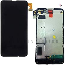 ePartSolution_Replacement Part for Nokia Lumia LCD Display Touch Screen Digitizer Glass Lens + Frame Assembly USA (Lumia 635/630)