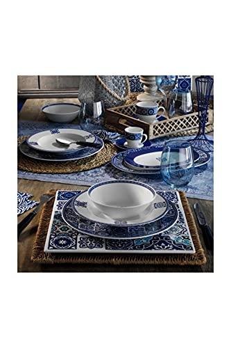 Kütahya 9429 LB24Y24309429 Leonberg - Juego de vajilla (porcelana, 24 piezas)