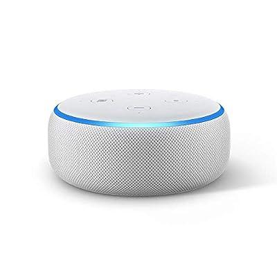 Echo Dot (3rd Gen) - Smart speaker with Alexa - Sandstone from Amazon